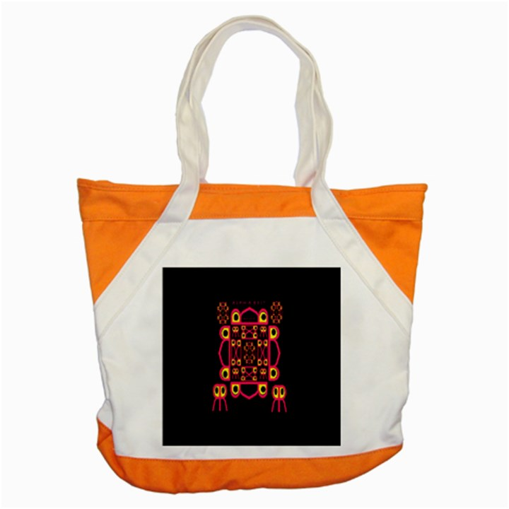 Alphabet Shirt Accent Tote Bag