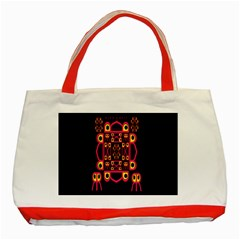 Alphabet Shirt Classic Tote Bag (Red)