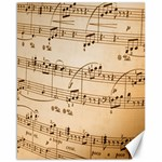 Music Notes Background Canvas 16  x 20   20 x16 Canvas - 1