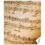 Music Notes Background Canvas 20  x 24   24 x20 Canvas - 1