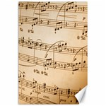 Music Notes Background Canvas 24  x 36  36 x24 Canvas - 1