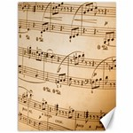 Music Notes Background Canvas 36  x 48   48 x36 Canvas - 1