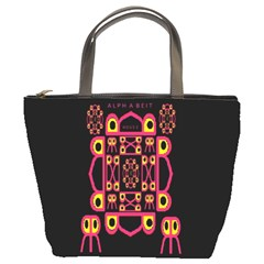 Alphabet Shirt Bucket Bags
