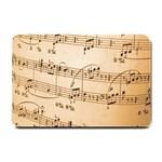 Music Notes Background Small Doormat  24 x16 Door Mat - 1