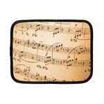 Music Notes Background Netbook Case (Small)  Front