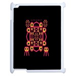 Alphabet Shirt Apple iPad 2 Case (White) Front