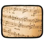 Music Notes Background Netbook Case (Large) Front