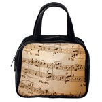 Music Notes Background Classic Handbags (2 Sides) Back