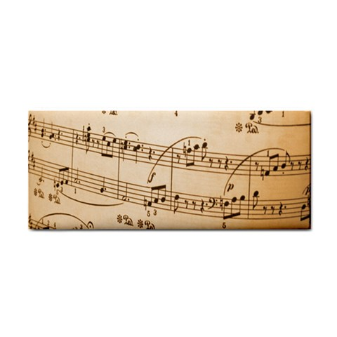 Music Notes Background Hand Towel