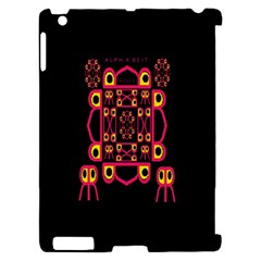 Alphabet Shirt Apple iPad 2 Hardshell Case (Compatible with Smart Cover)