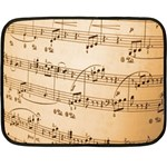 Music Notes Background Fleece Blanket (Mini) 35 x27 Blanket