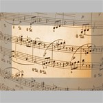 Music Notes Background Mini Canvas 6  x 4  6  x 4  x 0.875  Stretched Canvas