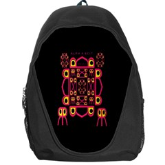 Alphabet Shirt Backpack Bag