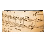 Music Notes Background Pencil Cases Front