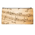 Music Notes Background Pencil Cases Back