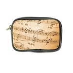Music Notes Background Coin Purse Front