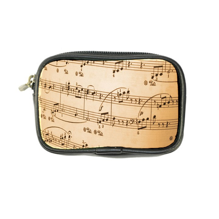 Music Notes Background Coin Purse