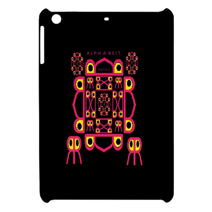 Alphabet Shirt Apple iPad Mini Hardshell Case