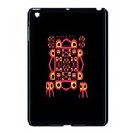 Alphabet Shirt Apple iPad Mini Case (Black) Front
