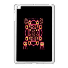 Alphabet Shirt Apple Ipad Mini Case (white)