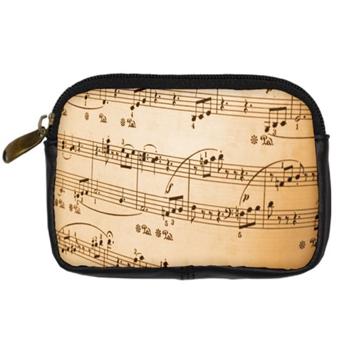 Music Notes Background Digital Camera Cases