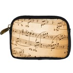 Music Notes Background Digital Camera Cases Front