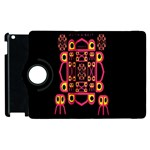 Alphabet Shirt Apple iPad 2 Flip 360 Case Front