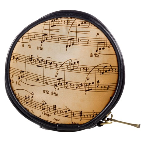 Music Notes Background Mini Makeup Bags