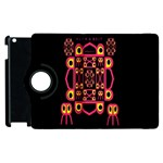 Alphabet Shirt Apple iPad 3/4 Flip 360 Case Front