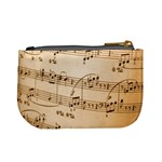 Music Notes Background Mini Coin Purses Back