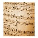 Music Notes Background Shower Curtain 66  x 72  (Large)  58.75 x64.8 Curtain