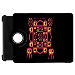 Alphabet Shirt Kindle Fire Hd Flip 360 Case