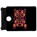 Alphabet Shirt Kindle Fire HD Flip 360 Case Front