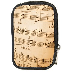 Music Notes Background Compact Camera Cases