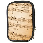 Music Notes Background Compact Camera Cases Front