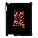 Alphabet Shirt Apple iPad 3/4 Case (Black) Front