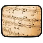 Music Notes Background Netbook Case (XL)  Front