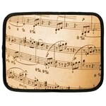 Music Notes Background Netbook Case (XXL)  Front