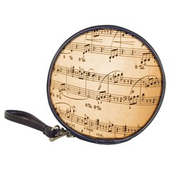 Music Notes Background Classic 20-CD Wallets