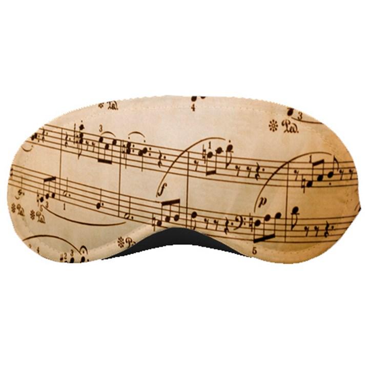 Music Notes Background Sleeping Masks