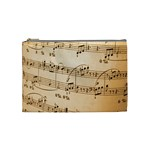 Music Notes Background Cosmetic Bag (Medium)  Front