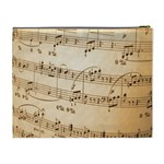 Music Notes Background Cosmetic Bag (XL) Back