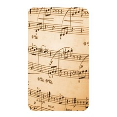 Music Notes Background Memory Card Reader