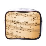 Music Notes Background Mini Toiletries Bags Front