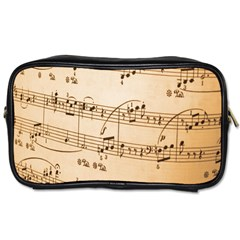 Music Notes Background Toiletries Bags 2-Side