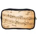 Music Notes Background Toiletries Bags 2-Side Front