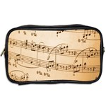 Music Notes Background Toiletries Bags 2-Side Back