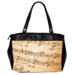 Music Notes Background Office Handbags (2 Sides)  Back