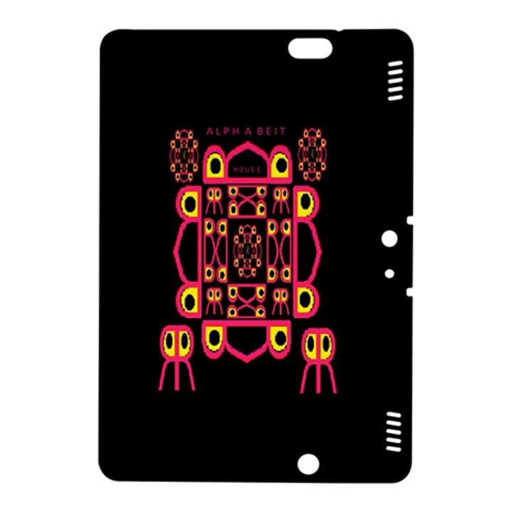 Alphabet Shirt Kindle Fire HDX 8.9  Hardshell Case