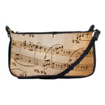 Music Notes Background Shoulder Clutch Bags Front